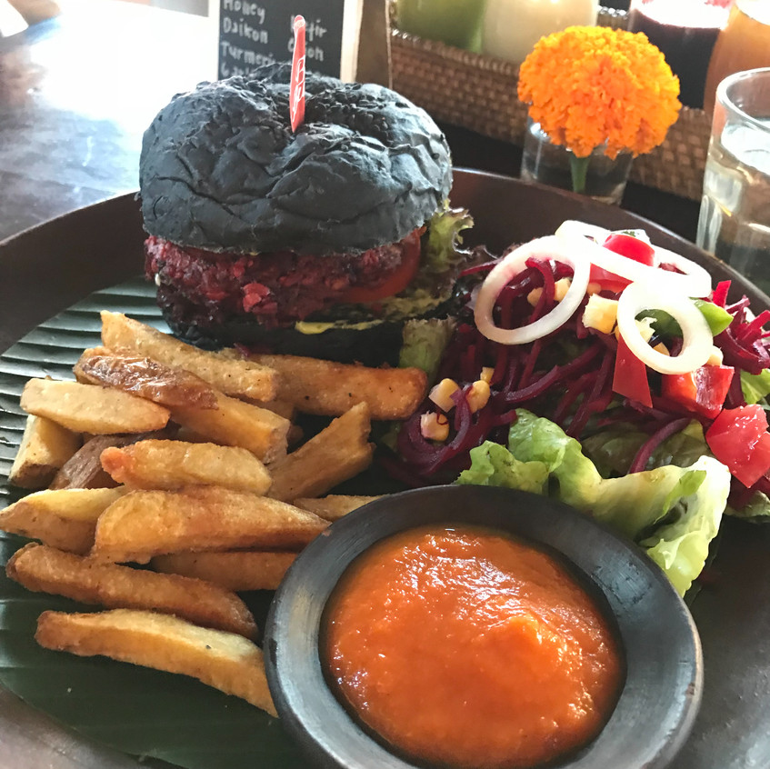 Bali Buda is an absolutely INCREDIBLE restaurant. Not only is the food absolutely incredible, it's affordable, mostly veggie but with openness to all, but they are also very pro active with waste reduction on Bali.