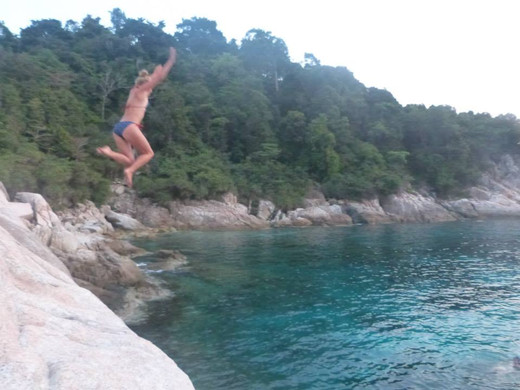 Cliff Jumps, LTTW