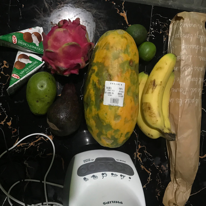 On rare evenings when I don't feel like eating out, I buy from a supermarket and enjoy a cold dinner. Fruit is cheap and delicious. Dinners in, will often cost more than those out!