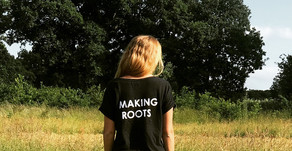 Making Roots T-Shirts... Hemp!