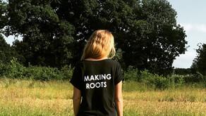 Making Roots T-Shirts... Hemp!
