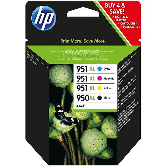 HP Tinte 950 XL/951 XL Rainbow Kit (C2P43AE)