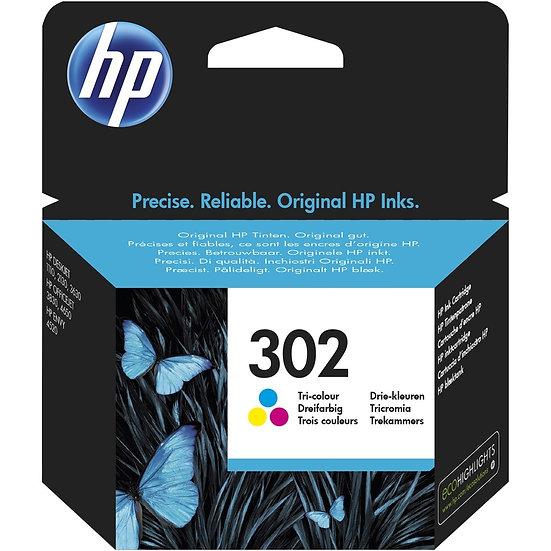 HP Druckkopf mit Tinte 302 dreifarbig (F6U65AE)