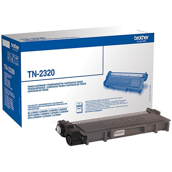 Brother Toner TN-2320 schwarz hohe Kapazität (TN2320)