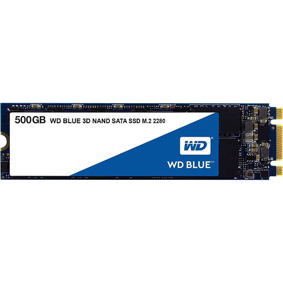 Western Digital WD Blue 3D NAND SATA SSD 500GB / M.2 (WDS500G2B0B)