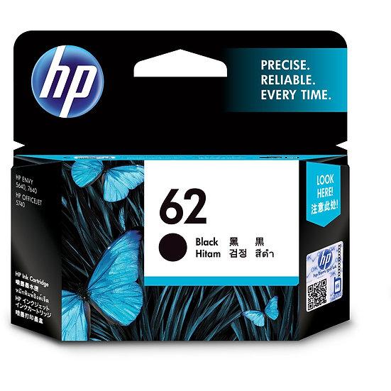 HP Druckkopf mit Tinte 62 schwarz (C2P04AE)