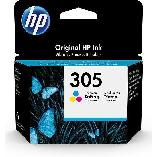 HP Druckkopf mit Tinte 305 farbig (3YM60AE)