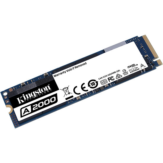 Kingston A2000 NVMe PCIe SSD 1TB / M.2 (SA2000M8/1000G)