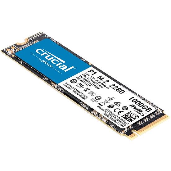 Crucial P1 SSD 1TB / M.2 (CT1000P1SSD8)