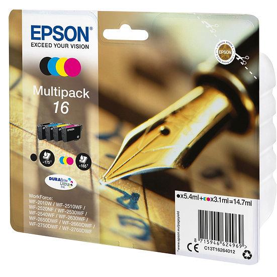 Epson Tinte 16 Multipack (C13T16264010)