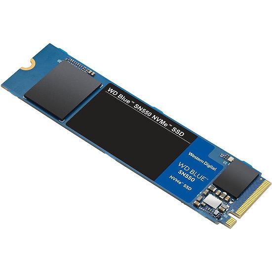 Western Digital WD Blue SN550 NVMe SSD 500GB / M.2 (WDS500G2B0C)