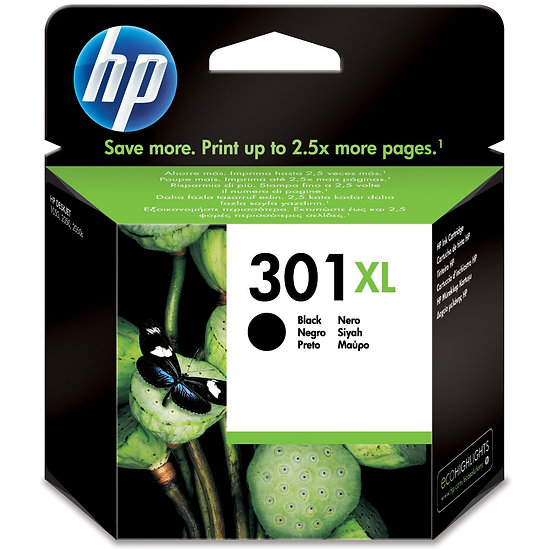 HP Druckkopf mit Tinte 301 XL schwarz (CH563EE)