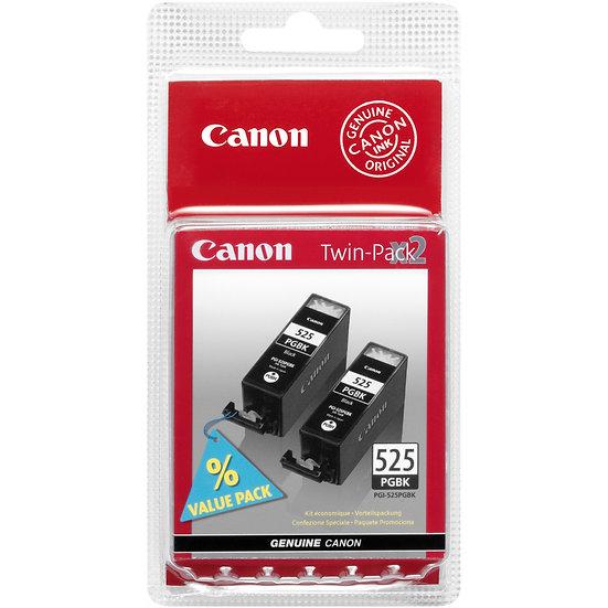Canon Tinte PGI-525PGBK schwarz, 2er-Pack (4529B006 / 4529B010)