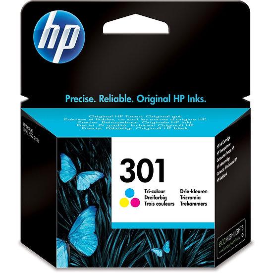HP Druckkopf mit Tinte 301 dreifarbig (CH562EE)