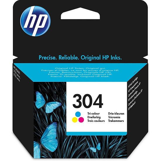 HP Druckkopf mit Tinte 304 dreifarbig (N9K05AE)