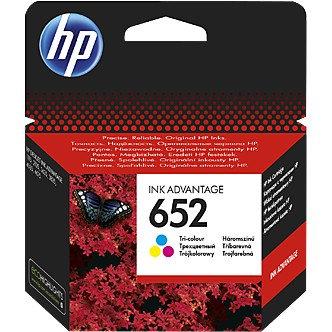 HP Druckkopf mit Tinte 652 dreifarbig (F6V24AE)
