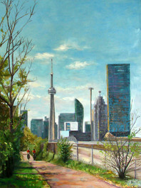 Crosspoint of Vature and Skyscrapers