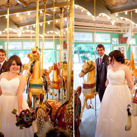 Jenny & Eric Wedding - Glen Echo Park - Maryland