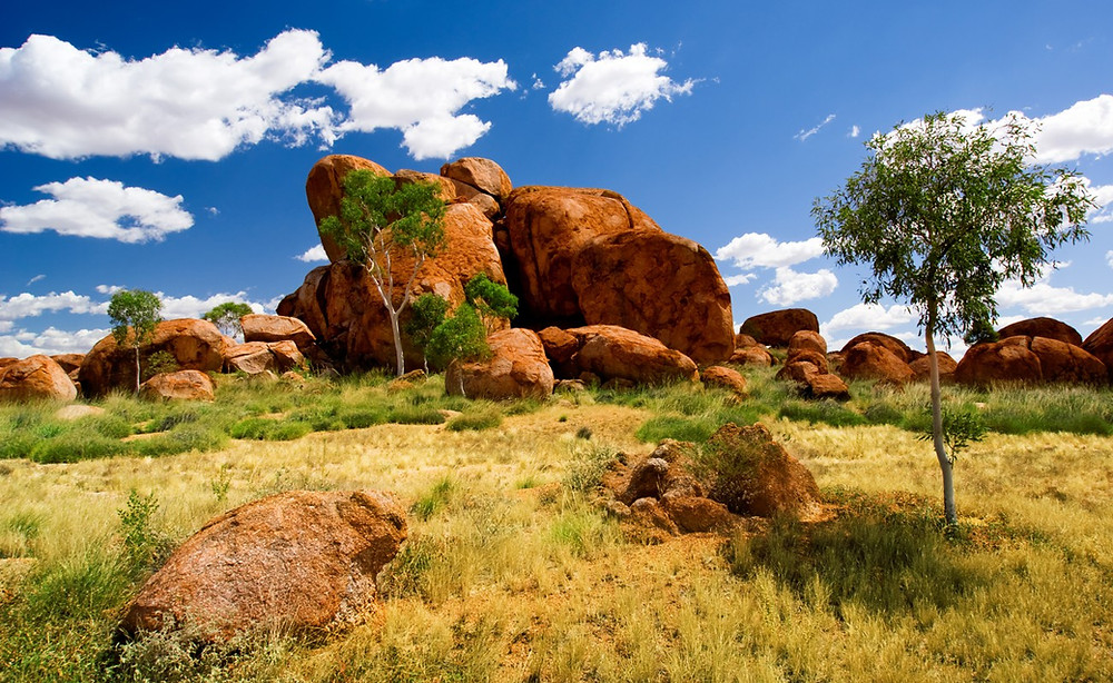 The Devils Marbles in Northern Territory