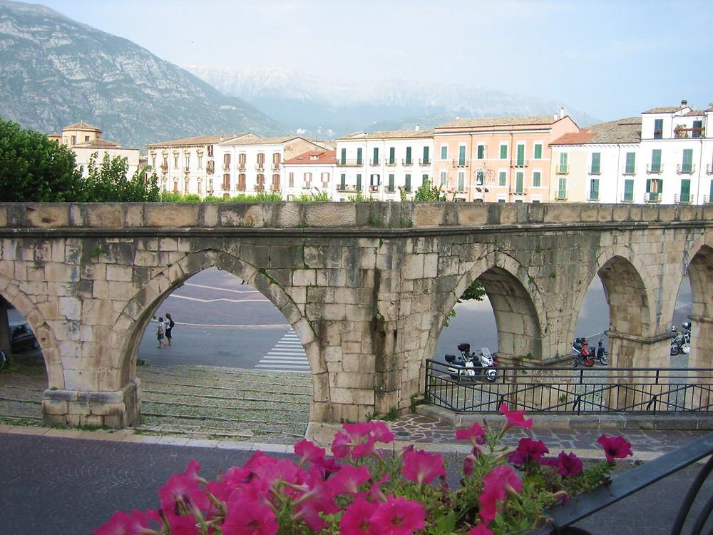 Piazza Garibaldi in Sulmona