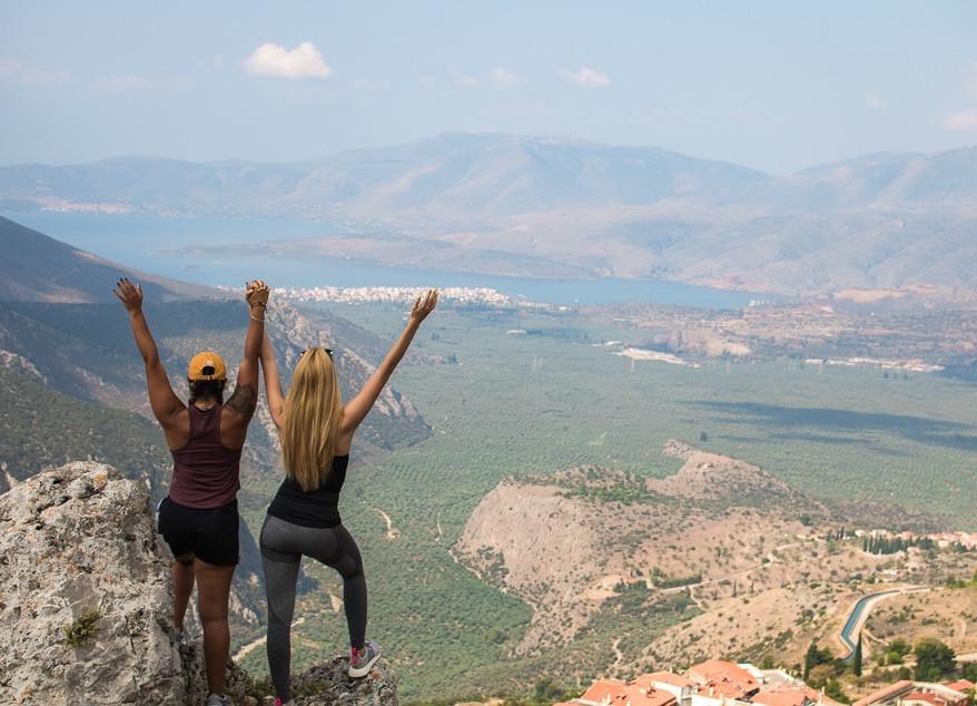 Women Travelers Exploring Mainland Greece