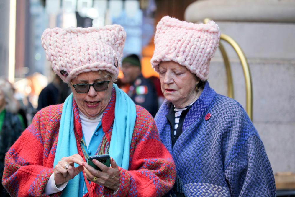 Women's march, NY