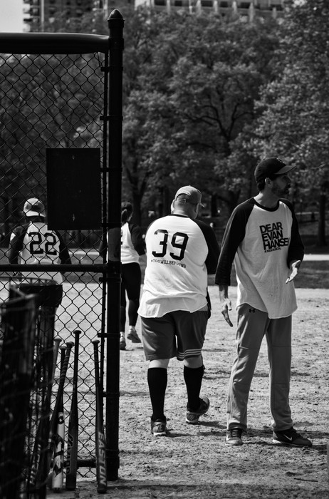 Black & White #14, Spring - Central Park, NY
