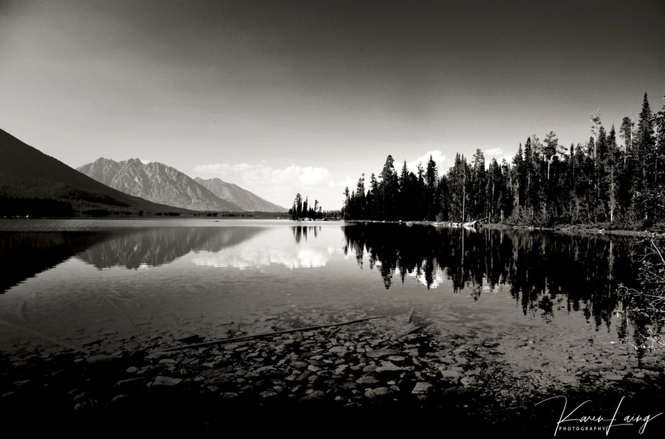 Black & White #11, Wyoming