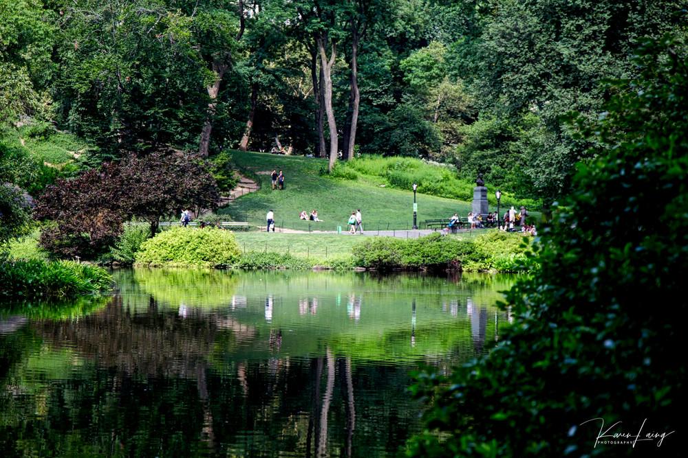 New York #4 - Spring, Central Park