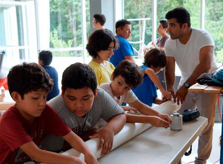 """Niños cozumeleños disfrutaron de un """"Verano Cósmico"""" en el Planetario de Cozumel."""
