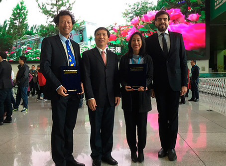 El Planetario de Cozumel y China celebran acuerdos diplomáticos en beneficio de la ciencia.