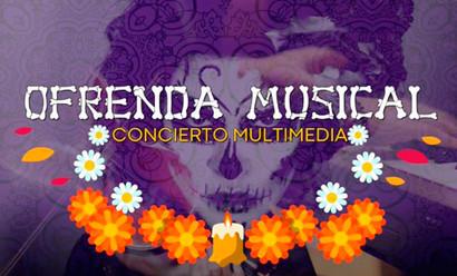 Concierto multimedia: Ofrenda Musical, fusión que mezcla ciencia, arte y cultura.