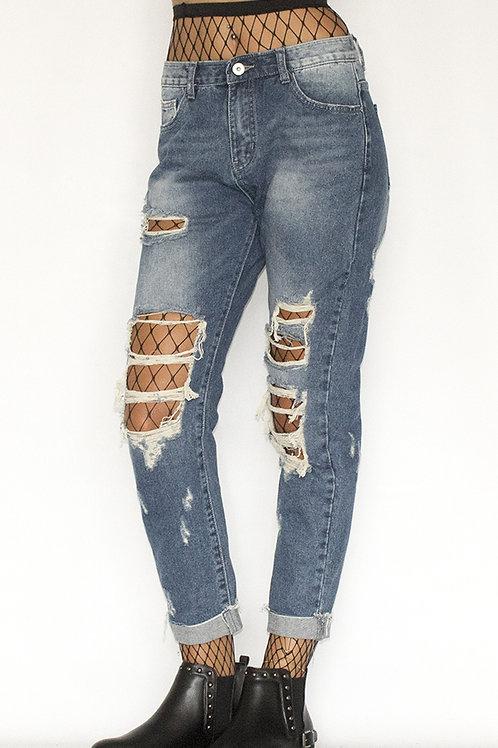 ALCOTT Denim Boyfriend Jeans