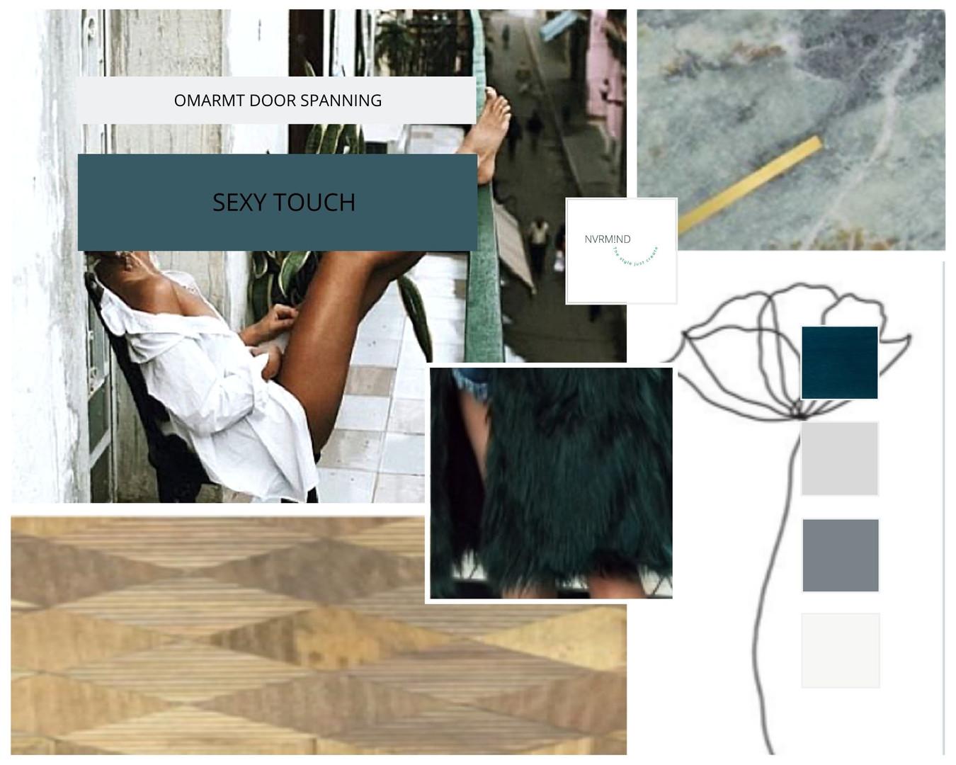 Moodboard voor Slaapkamer interieuradvies en styling