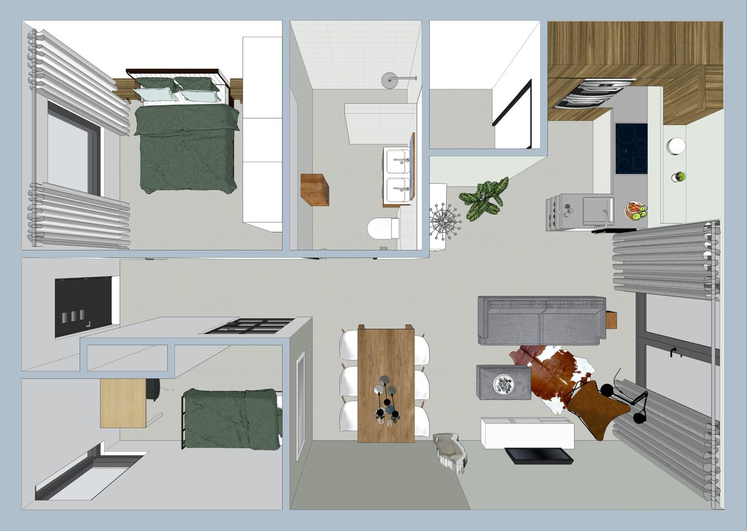 Plattegrond indeling woning