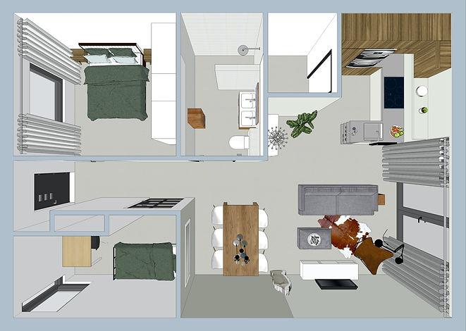 3D Sketchup ontwerp en visualisatie