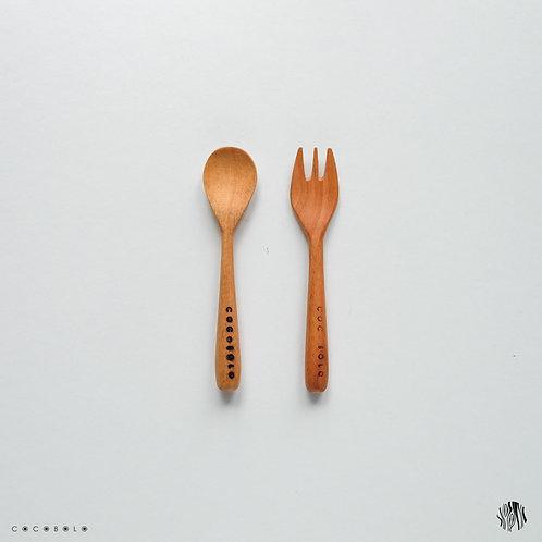 MINN wooden cutlery set