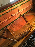 Removing Strings From Upright Piano