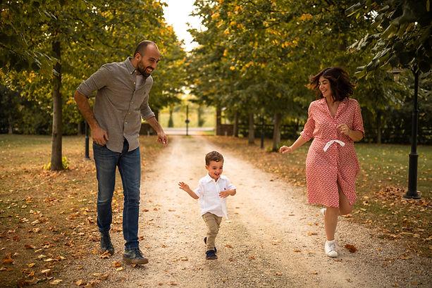 Silvia, Stefano e Giovanni