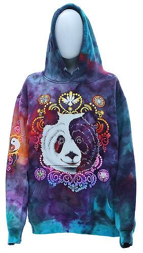 Panda iced dyed hoodie