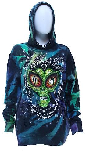 Alien reverse dyed pullover hoodie