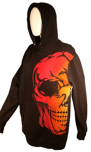 Fire Red Skull