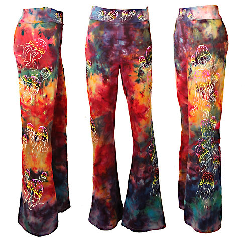 Jellyfish ice dyed yoga pants