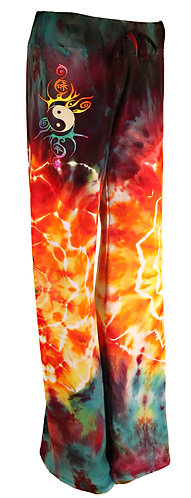 Explosion ice dyed lounge pants