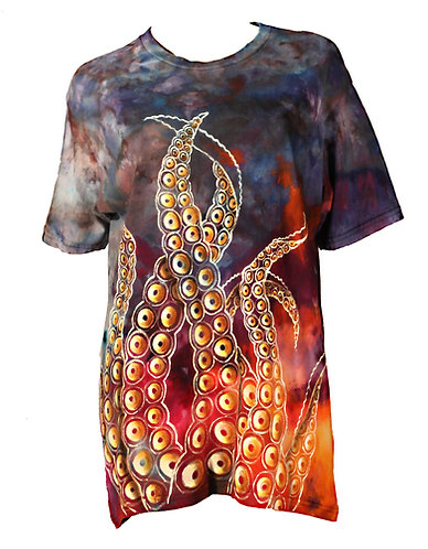 Tentacle iced dyed shirt