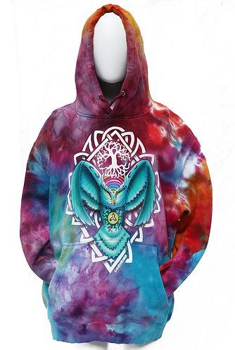Tie Dye Celtic Owl