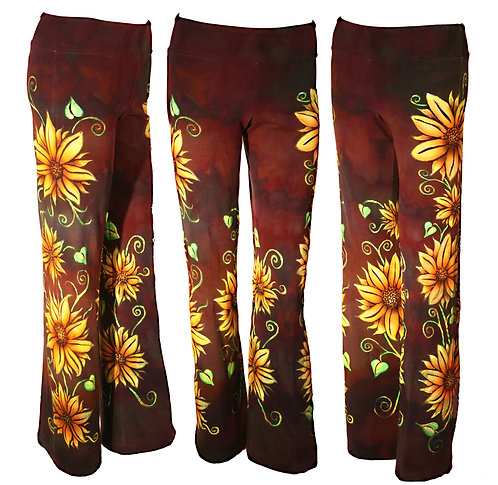 Sunflower iced dyed yoga pants