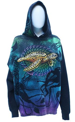 Golden Turtle Black pullover hoodie