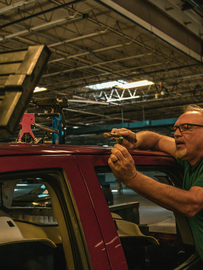 Hassle-Free Paintless Hail Dent Repair in Dallas, Denver, and Colorado Springs