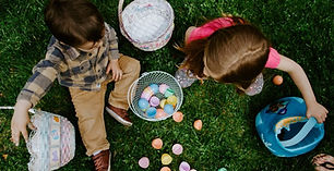 Easter camp is full 2-day fun and religious education camp was held for 2 to 6 age groups.